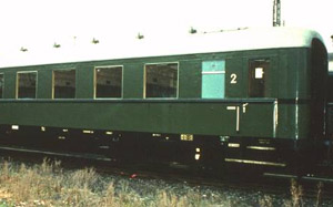 Second class sch�rzenwagen