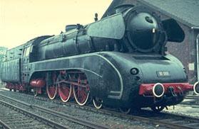 BR 10 001 at the steam engine museum Neuenmarkt-Wirsberg | Photo: Christian Splittgerber