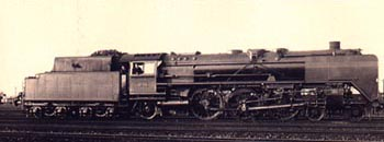BR 01.0-2 steam locomotive of the DRG