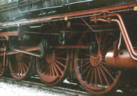 Driving shafts of the BR 01