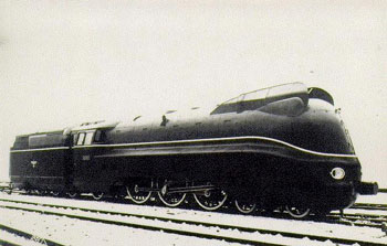 BR 03.10 steam locomotive of the DRG