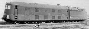 BR 05 003 with drivers cabine at the frontside