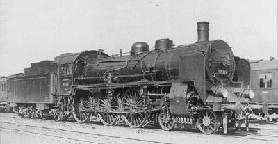 Locomotive BR 17 006