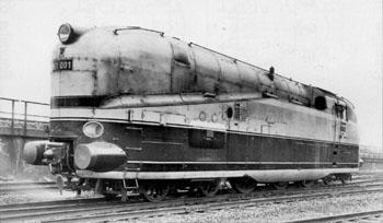 Locomotive BR 61 001