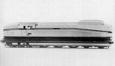 Locomotive BR 61 002