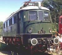 Locomotive E 18 31 in the original green coloring | Photo: Christian Zeilwegger
