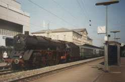 BR 001 steam locomotive after the renumbering
