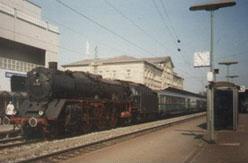 De BR 001 locomotief na de omnummering aan het eind van tijdperk III