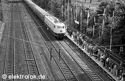 The E 03 on the IVA in 1965 | Photo: Kurt S�lch, June 1965, Munich