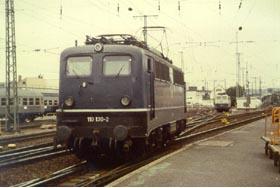 Locomotive E 10 130, on the first generation E 10 locomotives   Photo: Alex Strueder