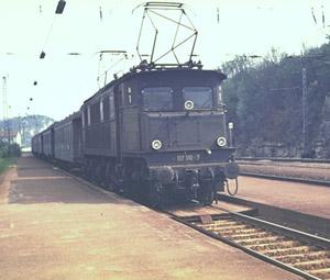 BR 117 110 locomotive