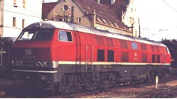Locomotive for test purposes, the V 320 001 from Henschel